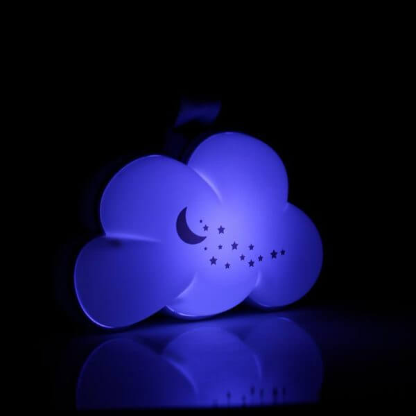 Night Lights & Cot Mobiles Dream Cloud Musical Portable Night Light Pitter Patter Baby NI 5