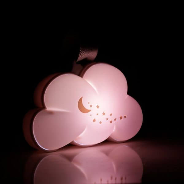 Night Lights & Cot Mobiles Dream Cloud Musical Portable Night Light Pitter Patter Baby NI 6