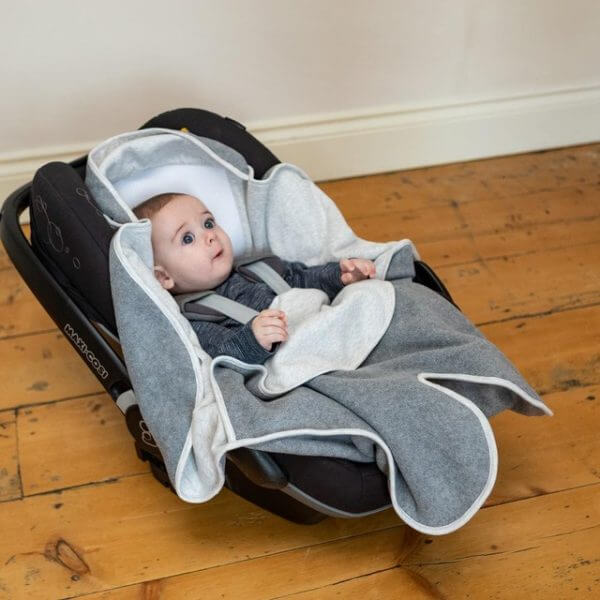 Accessories & Footmuffs Cosy Wrap Travel Blanket – Scandi Spot Pitter Patter Baby NI 4