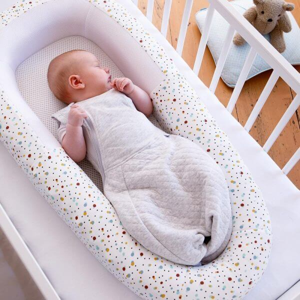 Blankets & Sleeping Bags Swaddle to Sleep Bag – Soft White Pitter Patter Baby NI 11