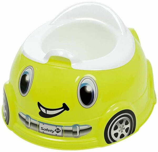 Potty Training Safety 1st Fast and Finished Lime Potty Pitter Patter Baby NI 3
