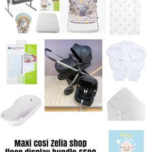 Clearance & Ex Display maxi Cosi Zelia Bundle Pitter Patter Baby NI