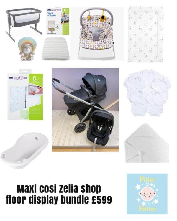 Clearance & Ex Display maxi Cosi Zelia Bundle Pitter Patter Baby NI 4
