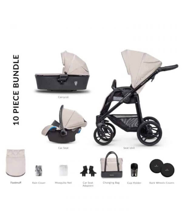 Travel Systems Venicci Shadow Toscana Sand Pitter Patter Baby NI 5