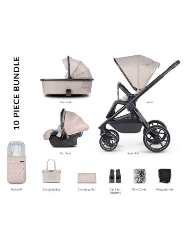 Travel Systems Venicci Tinum 2.0 Sabbia Pitter Patter Baby NI 5